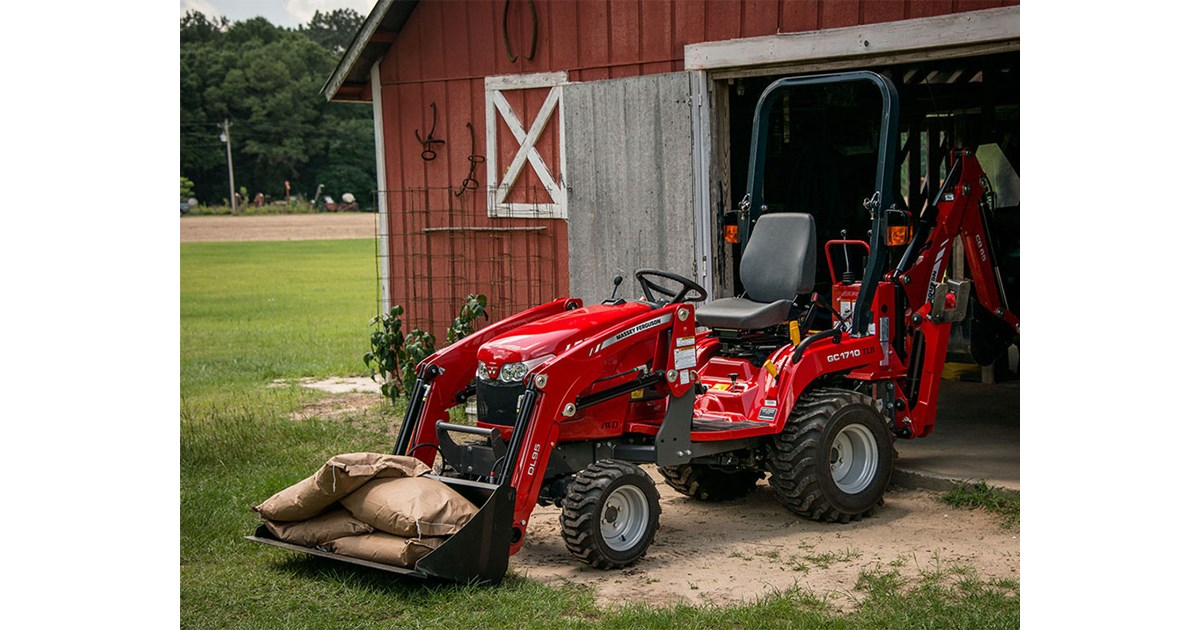 New MASSEY FERGUSON GC1720 Tractors for sale