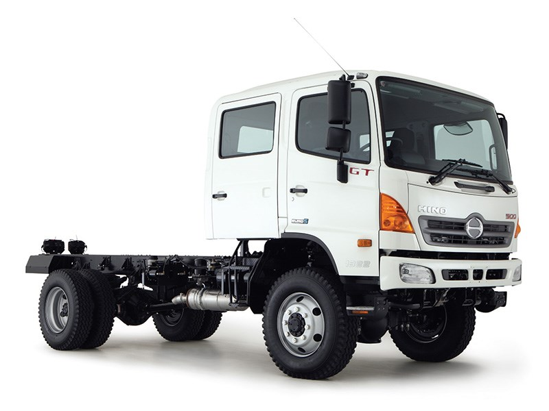 New Hino 500 Gt 1322 4x4 Crew Auto Trucks For Sale