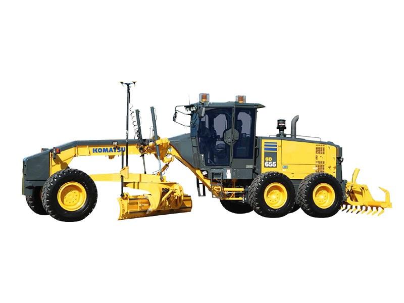New Komatsu Gd655 5 Graders For Sale