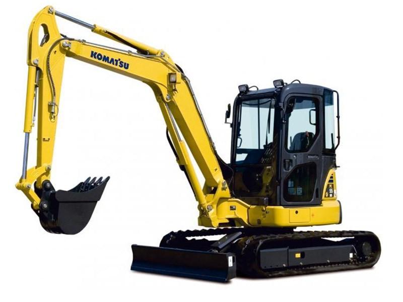 New Komatsu Pc55mr 3 Excavators For Sale