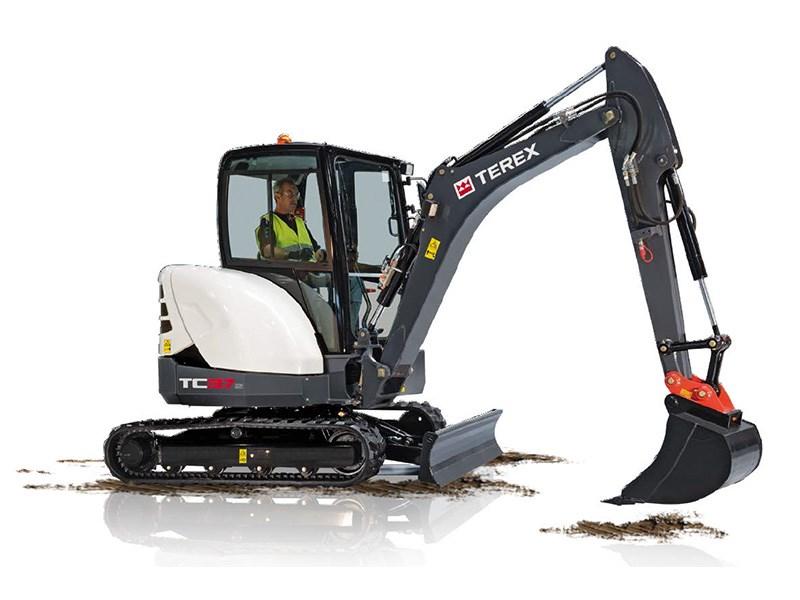 New TEREX TC37-2 Excavators for sale