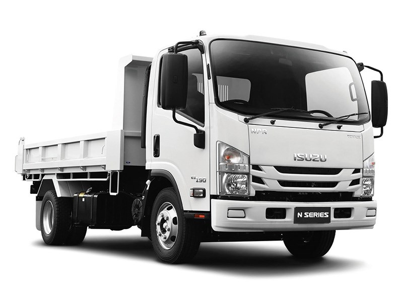 New ISUZU NPR 65-190 Tipper Trucks for sale