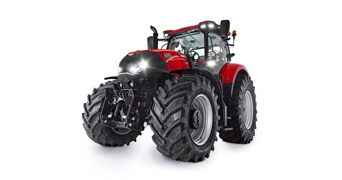 New CASE IH OPTUM 270 CVT Tractors for sale
