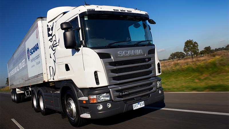 Scania G440 6x2 truck video review