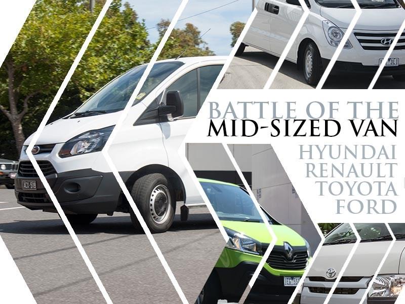 967a844258 Toyota HiAce vs Renault Trafic vs Hyundai iLoad vs Ford Transit