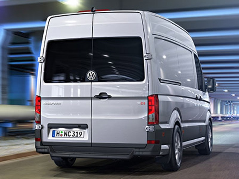 vw reveals details of new crafter models news. Black Bedroom Furniture Sets. Home Design Ideas