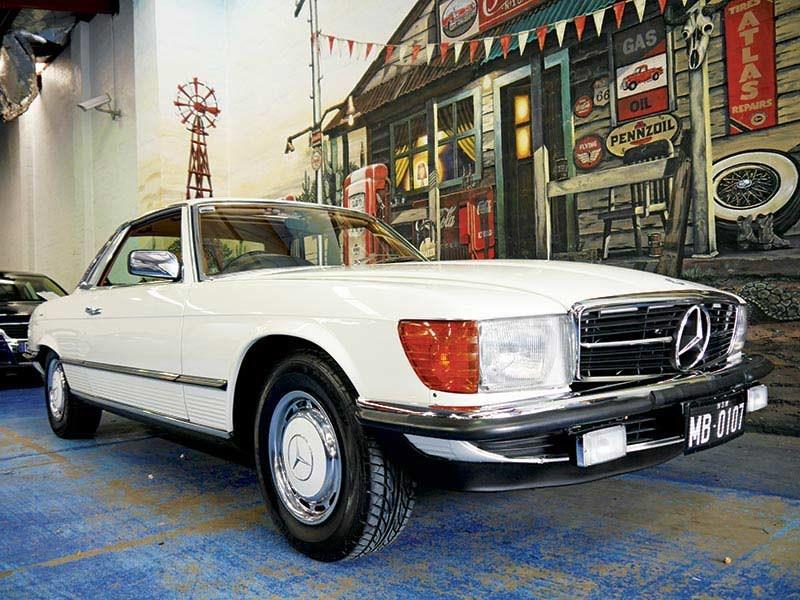 Mercedes 450sl review