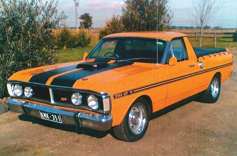 1972 Ford XY Falcon Ute: Reader Ride
