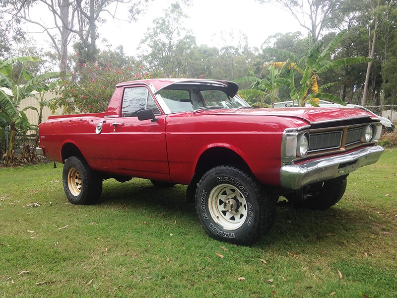 XY 4x4 ute in Qld auction