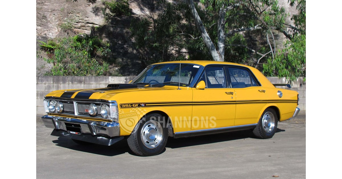 XY GT Falcon gets big bucks at Shannons auction