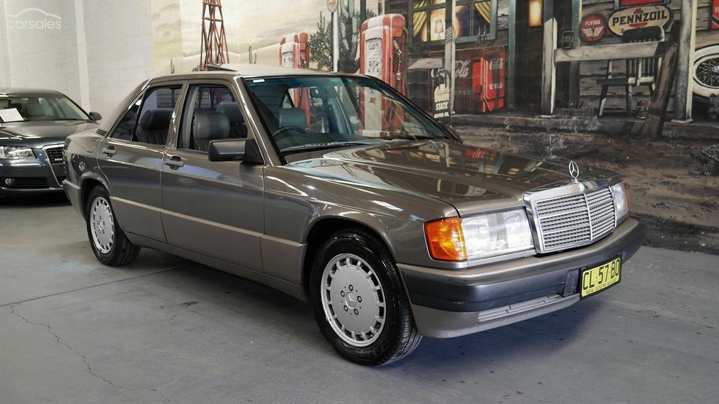 1989 Mercedes-Benz W201 190E – Today's German Tempter