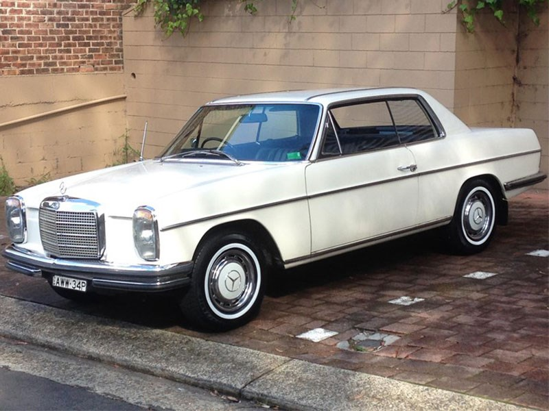 1970 mercedes benz w114 250ce today s classic euro tempter. Black Bedroom Furniture Sets. Home Design Ideas