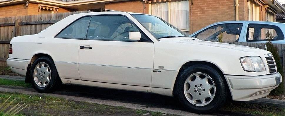 1994 Mercedes-Benz W124 E320 – Today's Luxo Tempter