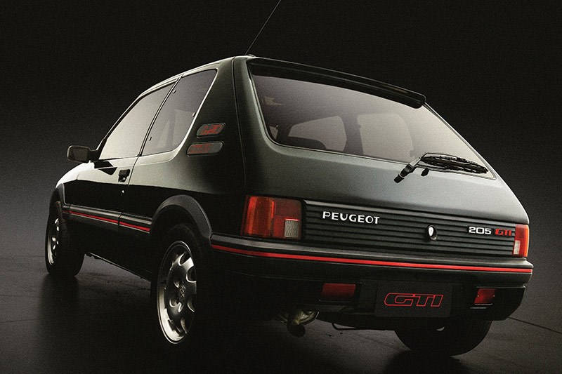 peugeot 205 1 9 gti 1987 94 classics under 30k. Black Bedroom Furniture Sets. Home Design Ideas
