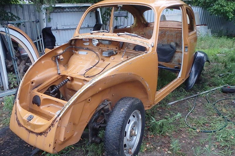 VW Beetle Baja build - Our Shed