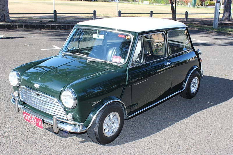 1970 Mini Cooper Mkii Review
