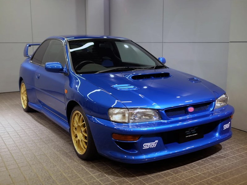 Subaru Impreza 22B Prototype For Sale