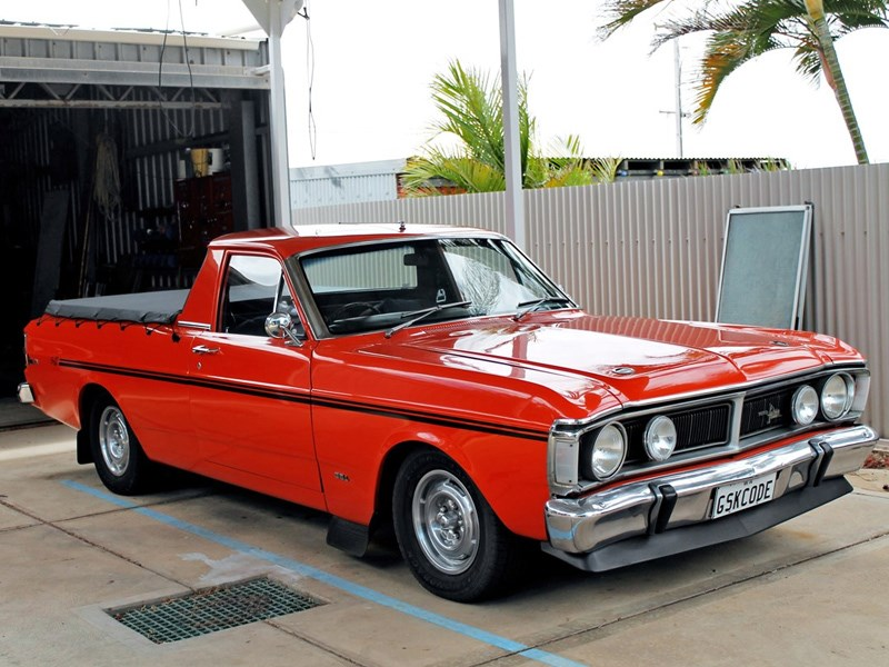 1971 Ford XY Falcon GS K-Code – Today's Tempter