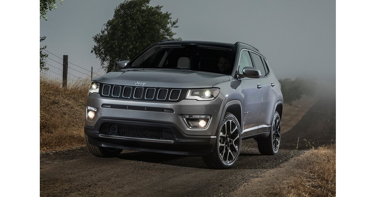 2017 Jeep Compass revealed