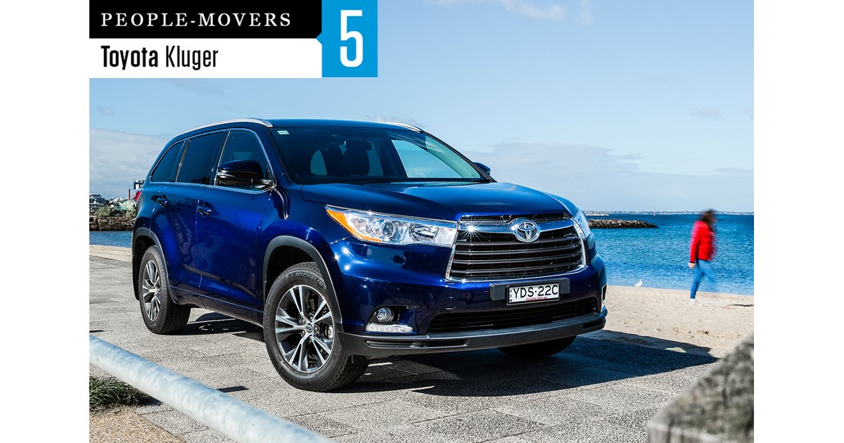 seven seater comparison review toyota kluger gx awd. Black Bedroom Furniture Sets. Home Design Ideas
