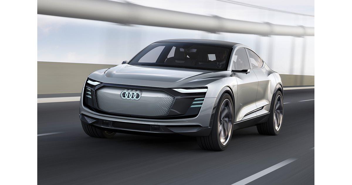 Shanghai Motor Show: Audi e-tron Sportback Concept ...