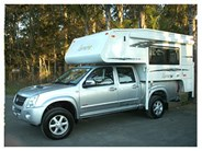Northstar Traveller 8 Hard Side Rear Door Camper