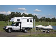 """Northstar Nomad 9 Hard Side, Side Door Camper"""