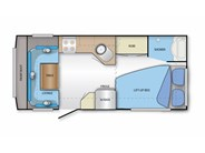 Jayco Sterling 17.55-7-SH.ST.OB Floorplan