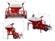 Lely Tulip Polymat Combi Airseeder