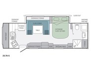 Jayco Silverline 25.78-5 Caravan Floor Plan