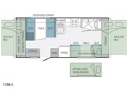 Jayco Expanda 17.56-2 Pop Top Floor Plan