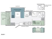 Jayco Expanda 20.63-1 Pop Top Floor Plan