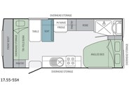 Jayco Journey 17.55-5 SH Floor Plan