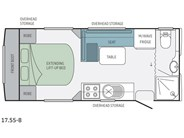 Jayco Journey 17.55-8 Floor Plan