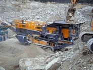 Tesab 1012T Mobile Impact Crusher