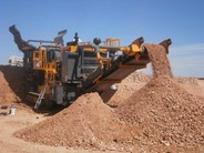 Tesab 1012TS Mobile Impact Crusher
