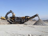 Tesab 10580 Mobile Jaw Crusher