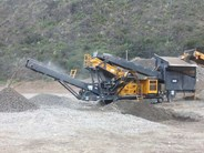 Tesab 643CCT Mobile Impact Crusher