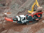 Sandvik QJ331 Mobile Jaw Crusher