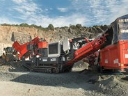 Sandvik QS331 Mobile Cone Crusher