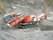 Sandvik UH440i Mobile Cone Crusher