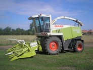 CLAAS Jaguar 850 Harvester
