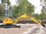 New Holland Mini Excavator E30B