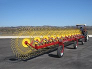 Sitrex TR-S in-line Series Trailed Wheel Rakes