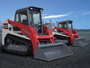 Takeuchi TL10 and TL12 Skid Steer Loaders