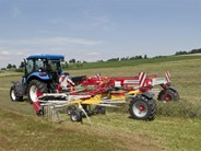 Poettinger TOP C Twin Centre Swath Rotary Rakes