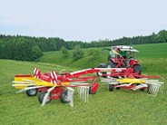 Poettinger TOP Twin Side Swath Rakes