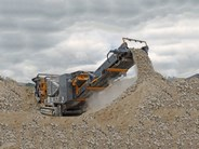 Tesab-10570 Tracked Jaw Crusher
