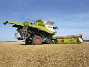 Claas Lexion 770 combine harvesters