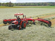 Kuhn SR300 series finger wheel rakes